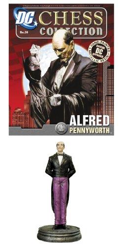 DC Superhero Chess Figure Magazine #26 Alfred Pennyworth (White Pawn) -  Eaglemoss