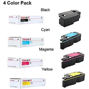 FAST 4-12PK Toner Cartridge for Dell E525w E525 525w 593-BBJX BBJU DPV4T H3M8P