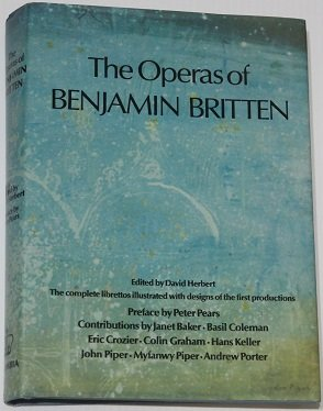 Memphis Musical Costumes (The Operas of Benjamin Britten: The Complete Librettos : Illustrated With Costume and Set Designs of the First Productions)