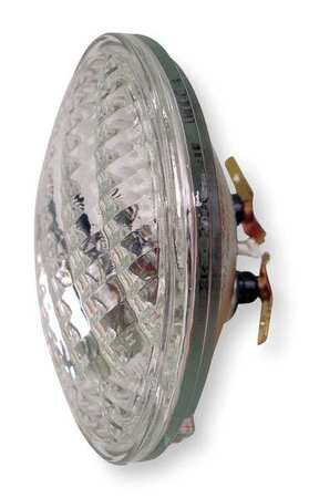 GE Incandescent Sealed Beam Lamp, PAR36, 7.0W