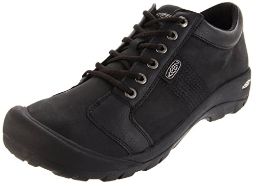 KEEN Men's Austin Shoe,Black,12 M US