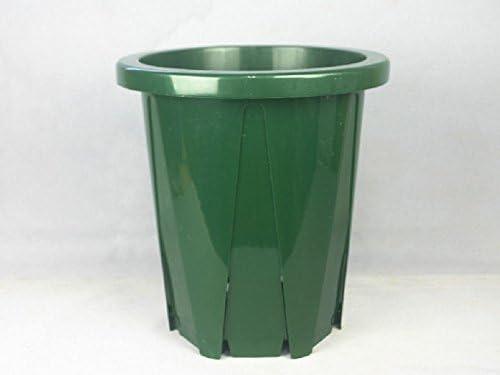 8号スリット鉢(CSK240)モスグリーン 10個セット