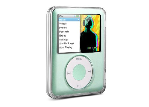 DLO Videoshell and Stand for iPod nano 3G (Clear) - Dlo Surface Shields