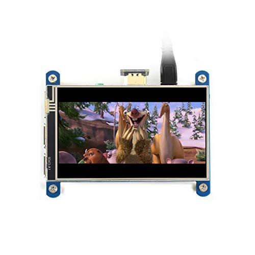 4inch HDMI Resistive Touch Screen IPS LCD (Type H) Display 480x800 No I/Os Required Designed for All Revision of Raspberry Pi