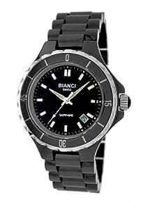 "Roberto Bianci Women's H262L_BLK ""Condezza"" Women's Ceramic Sapphire Crystal Watch"