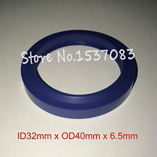 (Gimax Hydraulic ram Seal Wiper Seal Ring Rod Ring Gasket 32mm x 40mm x 5mm x 6.5mm)