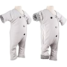 CribCulture Baby Sleepsuit & Infant Transition Swaddle: Sleep Suits For Infants 3-9 Months