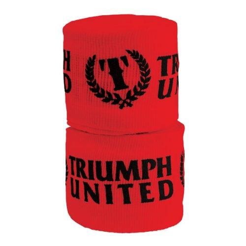 Triumph United  Printed Elastic Handwrap, Red