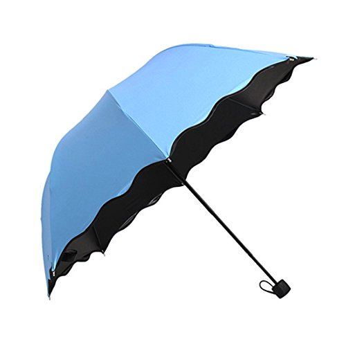 Price comparison product image Century Star Sturdy Canopy Nano Coating for UV Protection Waterproof Umbrella Blue