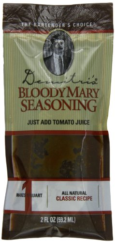 Demitri's Bloody Mary Seasoning Classic Recipe, 2-Ounce Packs (Pack of 50)