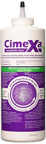 Rockwell Labs CXID032 Cimexa Dust Insecticide, 4oz White