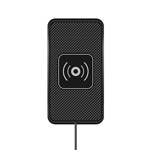 Rape Flower C1 2in1 Qi 10W Wireless Car Charger Silicone Pad Phone Dash Mount for Samsung (Samsung Laser Printer Ml 1740 Driver Windows 7)