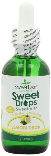 (SweetLeaf Sweet Drops Liquid Stevia Sweetener, Lemon Drop, 2 Ounce (Pack of 2))