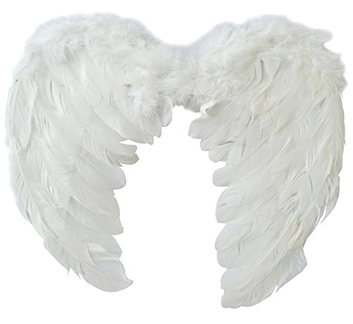 [Beauty Clubs Adults Kids Feather Wings Angel Fairy Fancy Dress Costume Halloween Party Favor] (Cheap Hallowen Costumes)