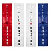 Title Boxing Ring Post Pads, Red/White/Blue