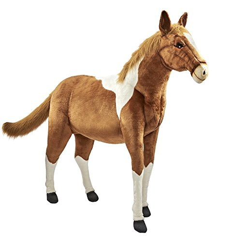 Amazon Com Hansa 60 Life Size Paint Pony Toys Games