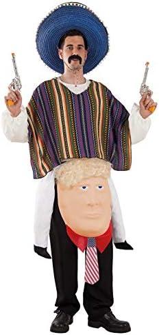 DISBACANAL Disfraz de Mexicano sobre Trump - -, XL: Amazon.es ...