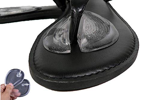 Valentino Garemi Thong Sandal Toe Strap Rubbing Protection - Flip Flop Soft Gel Forefoot Cushion Support and Prevent Between Toes Discomfort Rush Blister - Foot Support Self Adhesive with No Slip ()