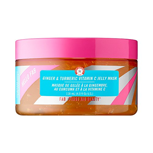 First Vitamin C Vitamins (Hello FAB Ginger & Turmeric Vitamin C Jelly Mask by First Aid Beauty)