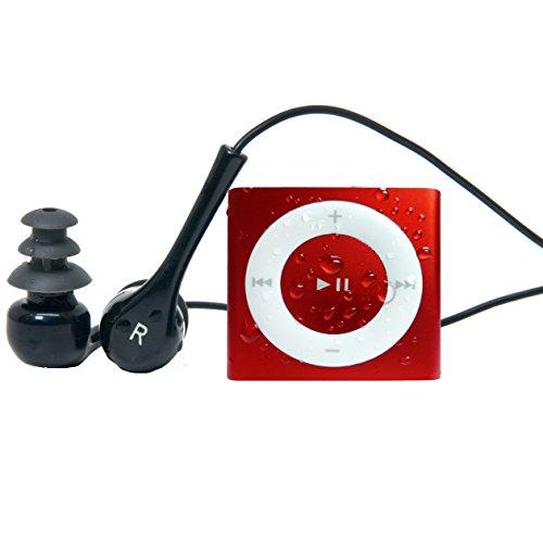 Red Underwater Audio Waterproof iPod Shuffle