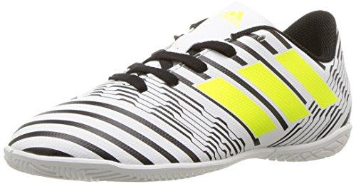 Pictures of adidas Boys' Nemeziz 17.4 in J S82464 White/Solar Yellow/Black 1