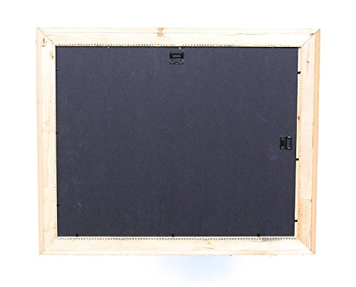 BarnwoodUSA Rustic 11x14 Inch Signature Photo Frame - 100% Reclaimed Wood, Weathered Gray by BarnwoodUSA (Image #6)