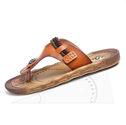 D estate Pantofole Casual Spiaggia Sandali Khaki Moda brown Shangxian  Traspirante Infradito Sport Outdoor Antiscivolo 39 Uomini aTPWH8qYFc 2c9cb1ccb23