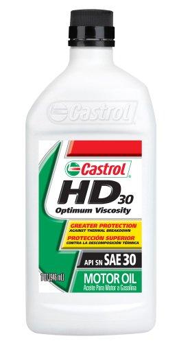 Castrol 06142-6PK HD30 Motor Oil, 1 Quart, Pack of 6