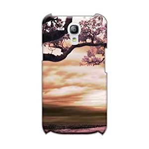 Scratch Resistant Hard Phone Covers For Samsung Galaxy S3 Mini (xPS27238DDyL) Custom Lifelike Purple Nature Series
