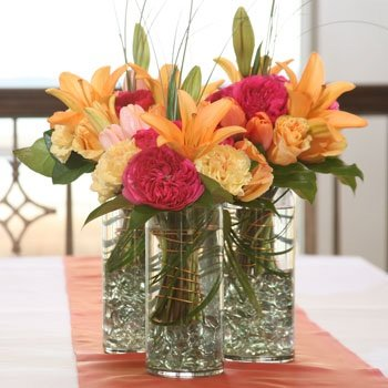 My Sanctuary Glass Cylinder Vase, 3 Pack of 7¼