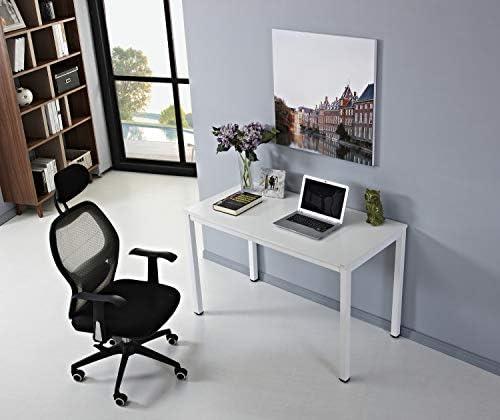 AUXLEY White Writing Computer Desk