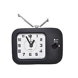 Retro Tv Bedside Alarm Clock Travel Alarm Clocks