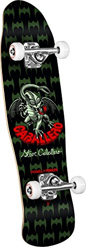 Powell-Peralta Dragon II 06 Shape 185 Mini Cab Complete Skateboard, 8