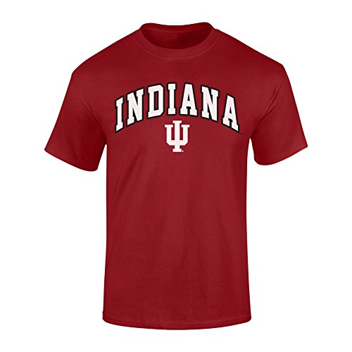Indiana Hoosiers TShirt Arch Red - XXL