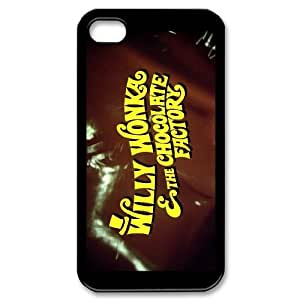 High Quality {YUXUAN-LARA CASE}Wonka Bar Pattern For Iphone 4 4SSTYLE-7