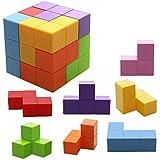Jhua Magnetisch Speelgoed Magische Kubussen Magneetblokken voor Kinderen Magnetische Bouwstenen Bakstenen Speelgoed voor Volwassenen, Stressverlichting, Educatieve Puzzels
