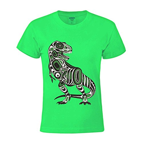 Charles Cheek T Rex Cool Womens Music Round Neck T Shirts Green