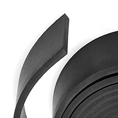 Delta Rubber Limited Solid Neoprene Rubber Strip - Huge Range Of Width And Thickness Available In 5m Lengths, 12mmx1.5mm