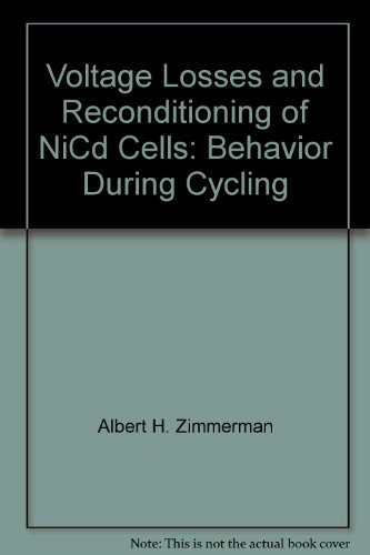 Voltage Losses and Reconditioning of NiCd Cells: Behavior During Cycling