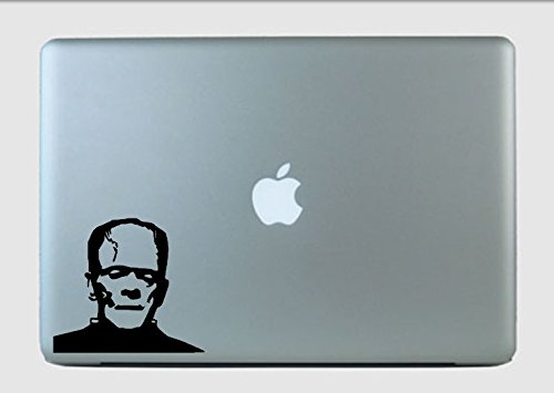 SimplyVinylized Frankenstein Face Vinyl Decal Sticker Glitter -