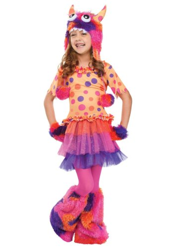 Fun World girls Big Girls' Fuzzy Fifi