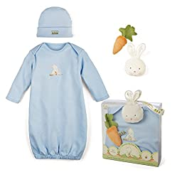 Bunnies By The Bay Sweet and Tender Gift Set, Blue