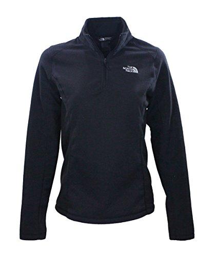 The North Face Womens TNF Black Glacier 1/4 Zip Fleece Jacket