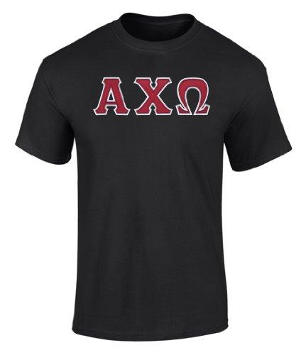 alpha chi omega letter shirts - 5