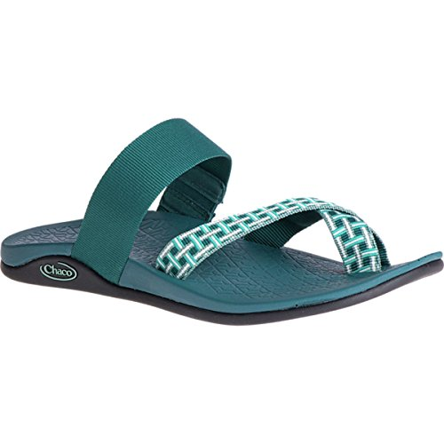 Chaco Womens Tetra Cloud Athletic Sandal Madras Teal afAUbtq