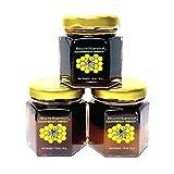 Tualang Honey 59g x 3 Jars (Tasting Mini-Pack: Black, Red, Yellow Honey) |