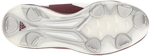 Baseball Men's X Mid Metallic Carbon Shoe adidas White Maroon Silver Freak AqZUXnqWO