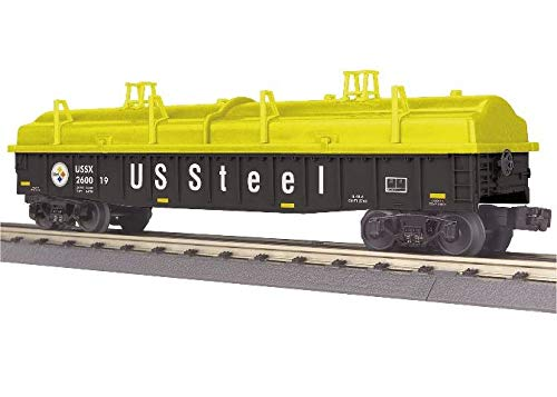 MTH TRAINS; MIKES TRAIN HOUSE USS Steel Gondola CAR W/Cover
