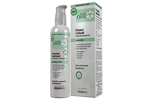 - MD's OWN Paraben and Glycerin Free Personal Lubricant