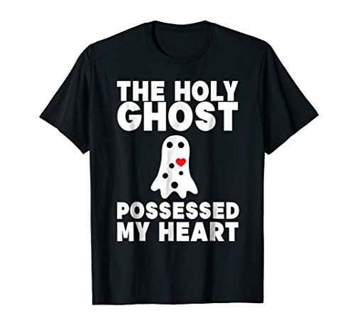 Funny Holy Ghost Possessed My Heart Shirt Halloween for $<!--$14.99-->